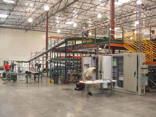 Rack Supported Mezzanine Systems
