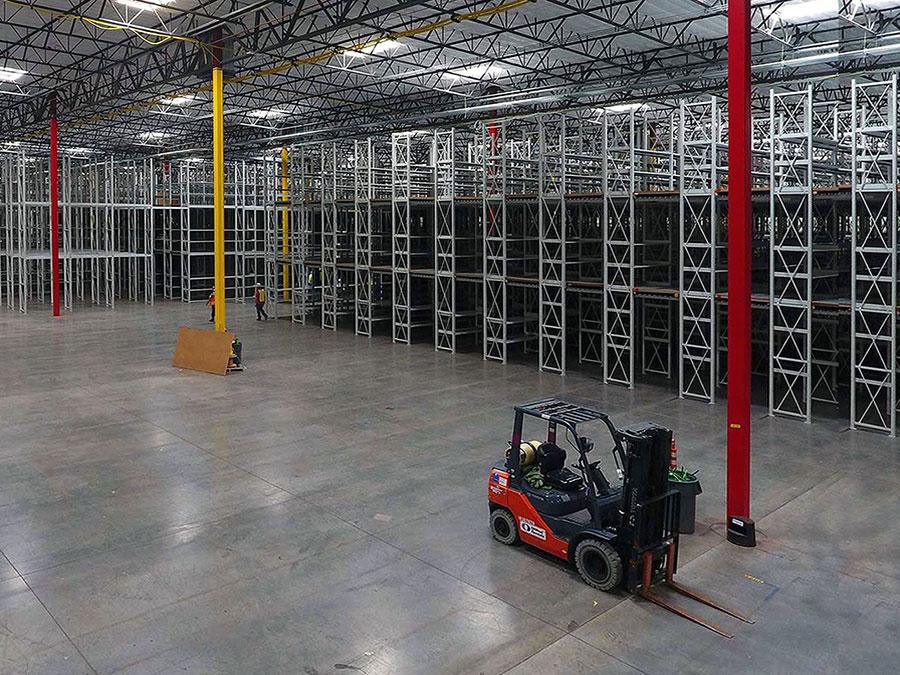 Industrial Shelving Pick Mods Reconfiguration